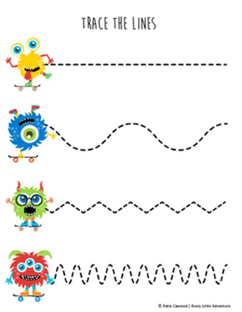 Lined Writing Paper for Kindergarten Fresh Lined Template
